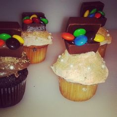 Pirate Themed Treasure Chest Cupcakes made by: Renee Hillman Events