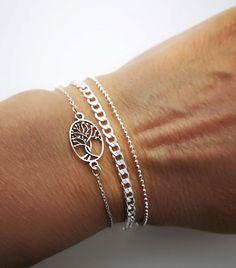 En nuestra web encontraras la combinación perfecta en pulsera de plata Delicate, Bracelets, Jewelry, Fashion, Silver Bracelets, Silverware Jewelry, Anklets, Necklaces, Rings