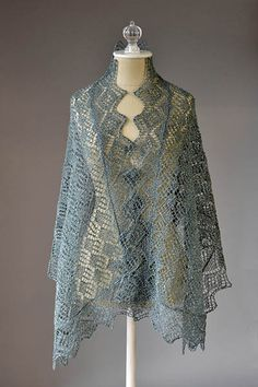 Whimsical Shawl Free Knitting Pattern