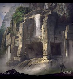 Halo 2 Anniversary - Sanctuary by Michael Pedro | Sci-Fi | 2D | CGSociety