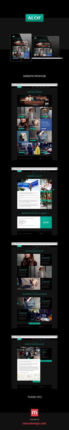 ALOF Website Concept