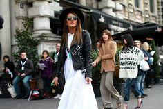 Street Style de Fashion Week Mil�n