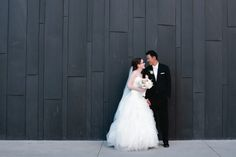 Modern museum wedding- bride wearing Pronovias gown | floral design by http://bandbflowerdesigns.com/ | photography by http://www.courtneyaaron.com/