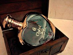 Armagnac Chabot XO Coeur  Love <3 #chabot #coeur #heart #xo #armagnac #french #original #bottle #sklepballantines #love #forher #musthave