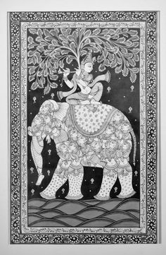 The Love of the Gopis – Beauty Interprets, Expresses, Manifests the Eternal Pichwai Paintings, African Art Paintings, Madhubani Art, Madhubani Painting, Art Painting Gallery, Mural Painting, Krishna Art, Krishna Lila, Krishna Images