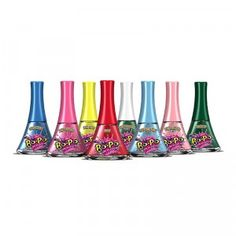 Bo-Po Nail Polish paints on like regular nail polish, but easily peels off. Great for dress-up play with kids!