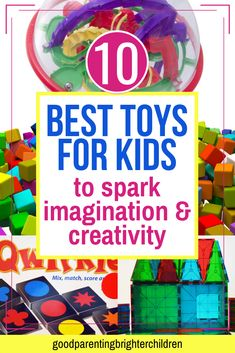 10 of the Best Brain-Building Toys in the World for Kids Kids Toys For Boys, Best Kids Toys, Gifts For Kids, Best Christmas Toys, Building Toys For Kids, Imagination Toys, Non Toy Gifts, Craft Activities For Kids, Kids Crafts