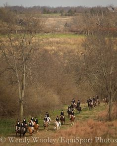 the blessing of the hounds hunt in shaker village area outside of lexington, kentucky