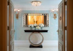 The Tiffany Suite at New York's St. Regis Hotel, a one bedroom suite for $8500 a night!