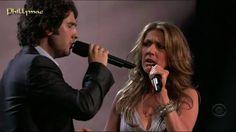 "Celine Dion & Josh Groban Live ""The Prayer"" (HD 720p)tener la dicha de escucharlos...."