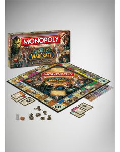 World of Warcraft Collector's Edition Monopoly Game