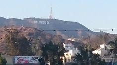 Another view of the Hollywood sign