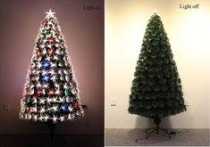 LED Fiber Optic Christmas Tree (4ft)
