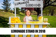 a lemonade stand exsepts cryptocurrency