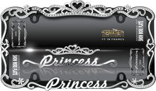 Girly Princess Chrome Car License Plate Frame - Tap The Link Now To Find Gadgets for your Awesome Ride License Plate Frame Girly, License Plate Covers, Jeep Wrangler Interior, Show Plates, Princess Car, Chrome Cars, Car Accessories For Girls, Jeep Accessories, Thing 1