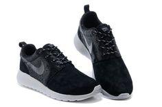 Nike Roshe Run Mens Shoes Gray Black, AUD $113.55 | www.hotsneakers.net