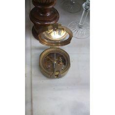 Brass Brunton Surveying Compass