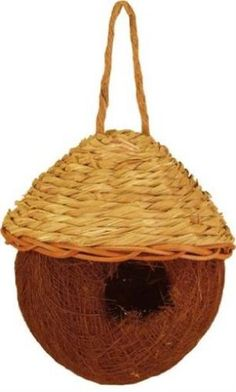 Tierra Garden 37-571 Palm and Seagrass Round Nesting Bag, Small   shopswell