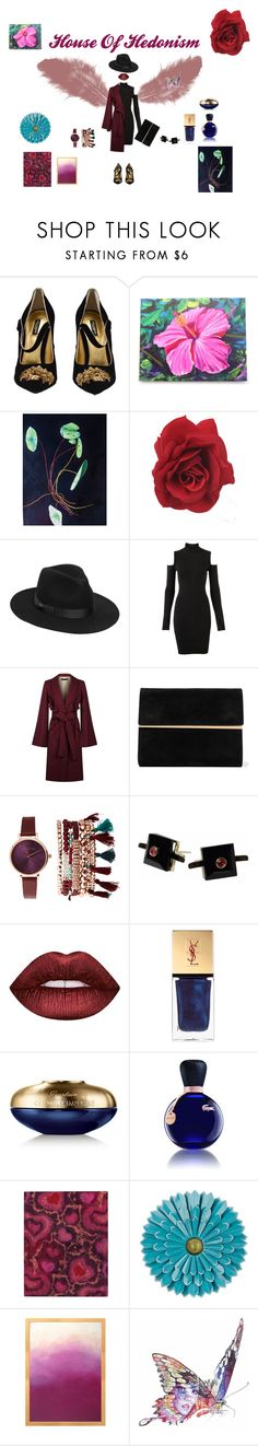 """""""House Of Hedonism"""" by lordhenrywotton on Polyvore featuring moda, Dolce&Gabbana, Lack of Color, Versus, Elie Saab, Maison Margiela, Jessica Carlyle, Maiko Nagayama, Lime Crime ve Yves Saint Laurent"""