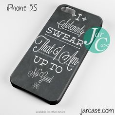 Harry-Potter quote i solemnly swear Phone case for iPhone 4/4s/5/5c/5s/6/6 plus
