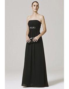 Affordable Elegant Custom A-Line Floor Length Chiffon Bridesmaid Dresses