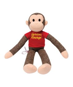 Take a look at this Curious George Sock Monkey Plush Toy by Curious George on #zulily today!