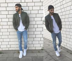 Street Style Man / Outfit Basic