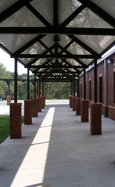 Extruded Aluminum Walkway Covers Gallery: See Designs for Our Aluminum Covered Walkways