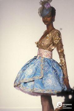 Anna Getaneh - Emanuel Ungaro, Spring-Summer 1991, Couture