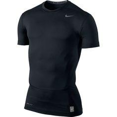 best service 2f6b9 e0bf8 Nike Mens Pro Combat Core Compression Shirt Black 449792 010 NWT  Nike   ShirtBaseLayers Compression