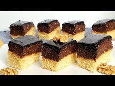 Prăjitură cu cremă de nucă şi biscuiți | Maria Popescu - YouTube No Cook Desserts, Cheesecake, Deserts, Sweets, Romania, Cooking, Healthy, Food, Youtube