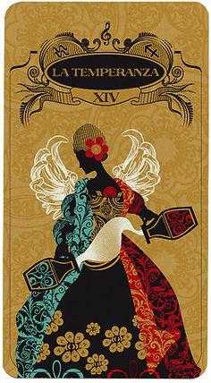 Temperance - The tarot is a pack of playing cards Temperance Tarot Card, Diy Tarot Cards, Le Tarot, Tarot Major Arcana, Tarot Learning, Tarot Readers, Tarot Spreads, Oracle Cards, Tarot Decks