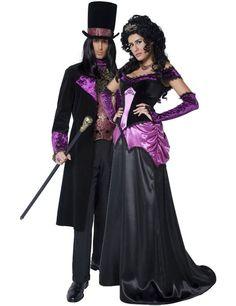 Gothic Vampire & Vampiress Combination | Simply Fancy Dress