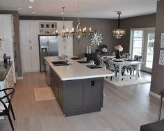 Ideas para Decoracion color Gris Decoracion de interiores interiorismo Decoración Decora tu casa Decoración de cocina Cocinas de casa Interior de cocina