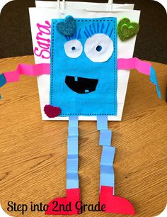 Valentine's Day Love Monsters from Step into 2nd Grade with Mrs. Lemons