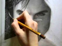Drawing Ian Somerhalder (by Ellen Sunbeam-Elena2687). This is gorgeous!