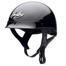 $195 @ Harley Davidson. Women's Hybrid Ultra-Light Bling Harley Half Helmet