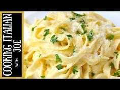 How to Make the Worlds Best Fettuccine Alfredo Cooking Italian with Joe Dinner Pasta – Dinner Recipes Italian Olives, Italian Chef, Italian Cooking, Italian Recipes, Italian Cookbook, Fettuccine Alfredo, Chicken Alfredo, Alfredo Recipe, Alfredo Sauce