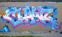 Iconic Graffiti @clawmoney www.itch.fm/listen #ClawMoney #Graffiti #GraffitiArt #NewYorkCity #Claw #bboy #bgirl #bgirls #streetart