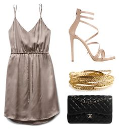 Simple but Elegant by kocdori on Polyvore featuring Tony Bianco, Chanel and YooLa