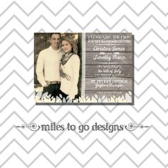 SALE  DIY Printable Wedding Save the Date Only by milestogodesigns, $15.00
