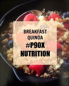 P90X BREAKFAST RECIPES: Breakfast Quinoa - Powered by @ultimaterecipe