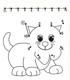 Tracing Worksheets for Kids. Free dot to dot worksheets for kids. Pre K Worksheets, Printable Preschool Worksheets, Free Preschool, Free Printable, Matching Worksheets, Number Worksheets, Alphabet Worksheets, Preschool Activity Sheets, Preschool Activities