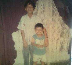 me and my brother TEO