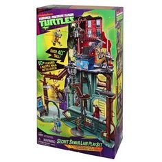 Teenage Mutant Ninja Turtles Secret Sewer Lair Playset -- Mason wants