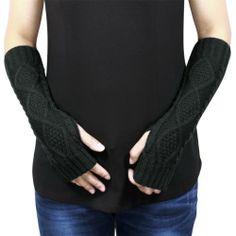 Dahlia Women's Aran Acrylic Knit Fingerless Arm Warmer Gloves - Gray Dahlia,http://www.amazon.com/dp/B00FBF3KGA/ref=cm_sw_r_pi_dp_8BjMsb1T5MPVPWWK