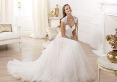 A Pronovias apresenta o vestido de noiva Lany. Fashion 2014.   Pronovias