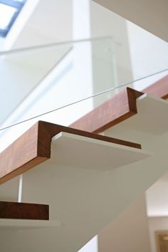 48 Amazing Modern Stairs #modernstairs modern stairs, hardwood stairs ideas, stairs treds, stairs wainscotting, stairs ballisters, stairs basement, industrial stairs, bookshelf stairs, redoing stairs, open stairs