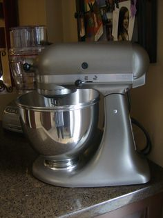 A candy-coating attachment for a Kitchen Aid mixer. Holy awesomeness ...