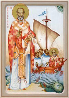 Αγ.Νικολαος Αρχιεπισκοπος Μυρων Της Λυκιας, Ο Θαυματουργος (; - 330) __dec 6